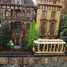 Model Trains, Model Buildings, Botanical Garden Train Show, New York City by lenspiro