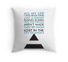 City Of Angel  Throw Pillow