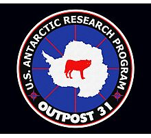 U.S. Outpost 31 Research Installation Photographic Print