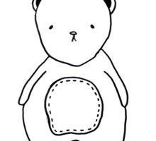 Happy Teddy Bear Day Sticker