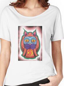 Lucky daruma cat Women's Relaxed Fit T-Shirt
