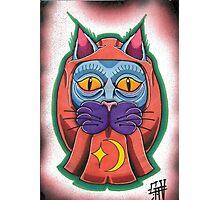 Lucky daruma cat Photographic Print