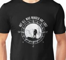 Not all who Wander are lost T-Shirt Unisex T-Shirt