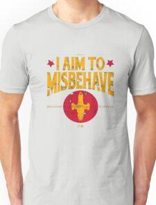 I Aim To Misbehave T-Shirt Unisex T-Shirt