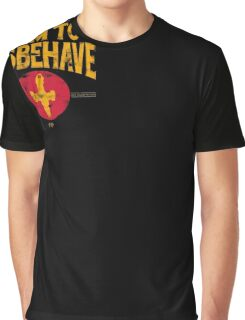 I Aim To Misbehave T-Shirt Graphic T-Shirt