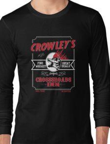 Crowley's Crossroads Inn T-Shirt - Supernatural Shirt Long Sleeve T-Shirt