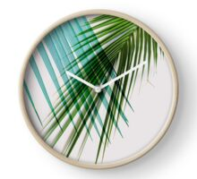 Palm Leaves, Tropical Decoration Clock