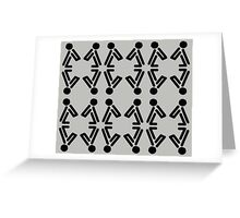 Release (Black) Greeting Card