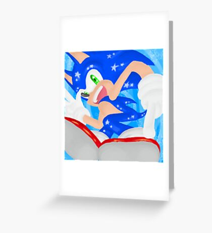 Starlight Sonic Greeting Card