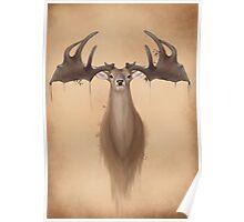 Megaloceros giganteus ( Irish elk / giant deer) Poster