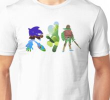 The big three (Sonic, Mario, Legend of Zelda) Unisex T-Shirt