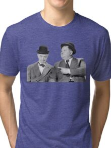 Laurel and Hardy Tri-blend T-Shirt