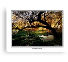Humble Serenity Canvas Print