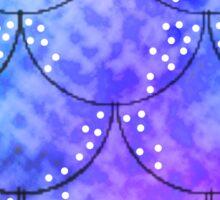 Splish Splash Mermaid Scales Sticker