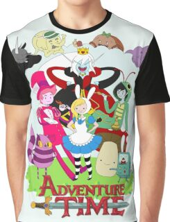Fionna and Cake - Alice in wonderland Graphic T-Shirt