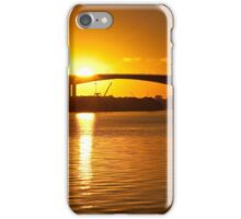 Sunset over the bay iPhone Case/Skin