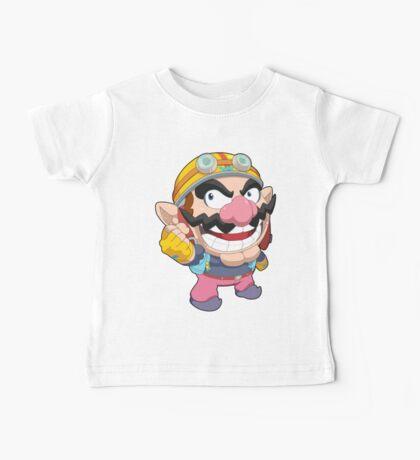 Super Smash Bros. Wario Baby Tee