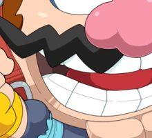 Super Smash Bros. Wario Sticker