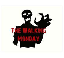 walking Monday Art Print