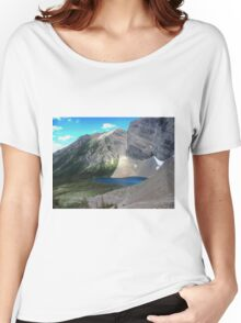 Waterton Lakes National Park - Carthew-Alderson Hiking Trail 10 Women's Relaxed Fit T-Shirt