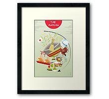 Matcha Framed Print