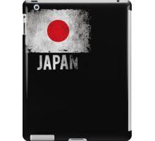 Japan Shirts Vintage Distressed T-Shirt for Japanese. iPad Case/Skin