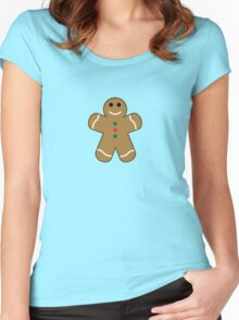 Gingerbread Women's Fitted Scoop T-Shirt