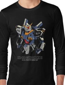 RX-178 Gundam MK 2 Long Sleeve T-Shirt