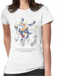 RX-178 Gundam MK 2 Womens Fitted T-Shirt
