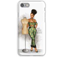 Girl Boss - The Fashion Designer iPhone Case/Skin