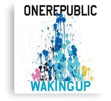 OneRepublic Waking Up Deluxe Canvas Print