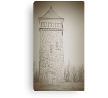 fire tower Canvas Print