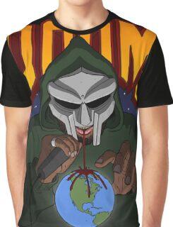 MF Doom Artwork Graphic T-Shirt