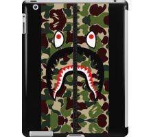 Camouflage Shark Hoodie iPad Case/Skin