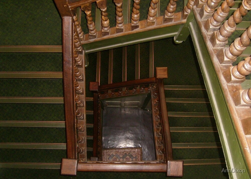 Chester Museum (England) Stairs by AnnDixon
