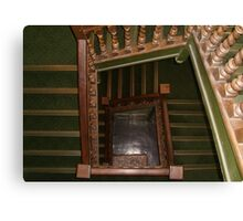 Chester Museum (England) Stairs Canvas Print