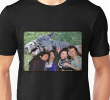 Chris, Rose, JoAnn, Debbie with Mr. Horse of course! Unisex T-Shirt