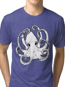 Octo, The Octopus Tri-blend T-Shirt