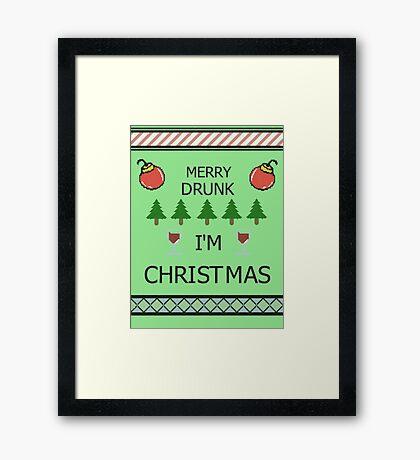 Merry Drunk Framed Print