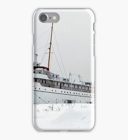 SS Keewatin in Winter White iPhone Case/Skin
