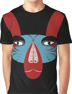 Coyote the Trickster in red, black and white Graphic T-Shirt