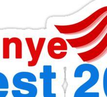 kanye west 2020 Sticker