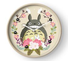 Totoro and the Spring Clock