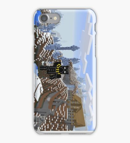 Ice Spike Mountain House iPhone Case/Skin