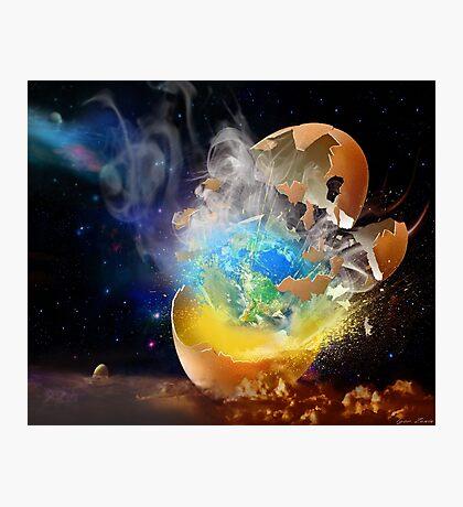 Cosmic Hatch II Photographic Print