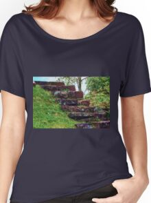 Old Stone Steps Women's Relaxed Fit T-Shirt