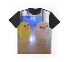 Mr.Smitty and Friend Fight Graphic T-Shirt