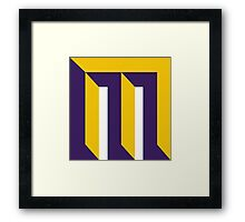 Milwaukee Vikings Framed Print
