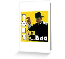 Toht Bag Greeting Card