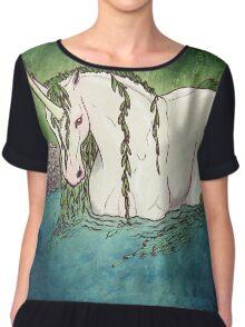 Willow Unicorn Chiffon Top
